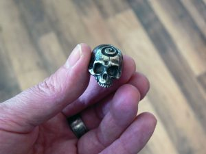 John Gage Dervish Skull Bead
